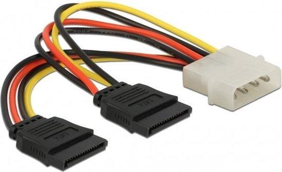 Internes PC Stromkabel; CAK S-26 SATA POWER//DATA EXT 0.3m