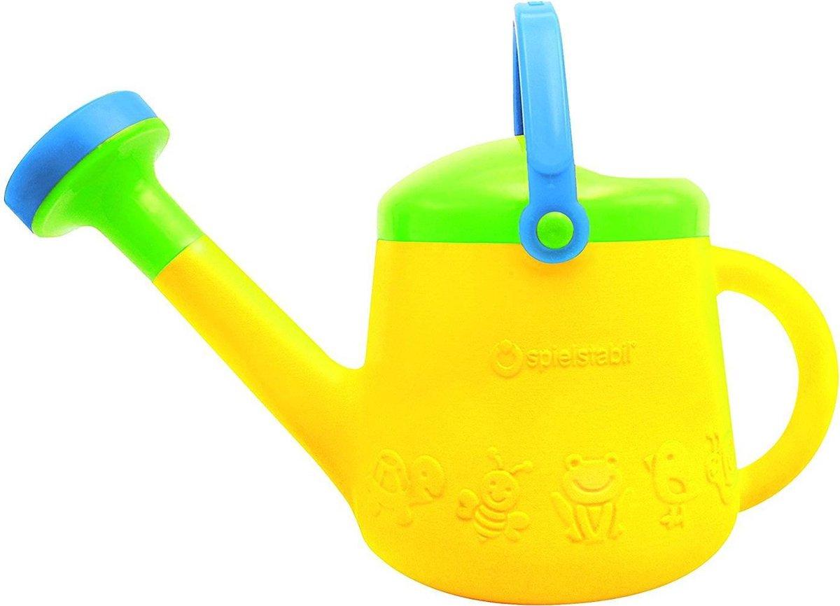 Gieter - Geel groen blauw - Inhoud 1 liter