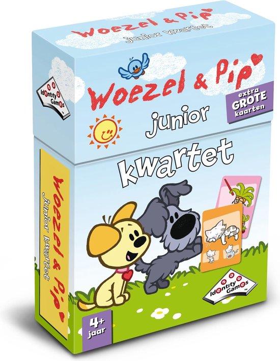 Woezel & Pip - Junior Kwartet - Kaartspel
