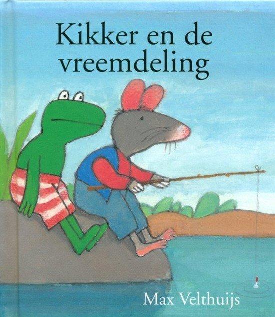 Boek cover Kikker en de vreemdeling van Max Velthuijs (Hardcover)