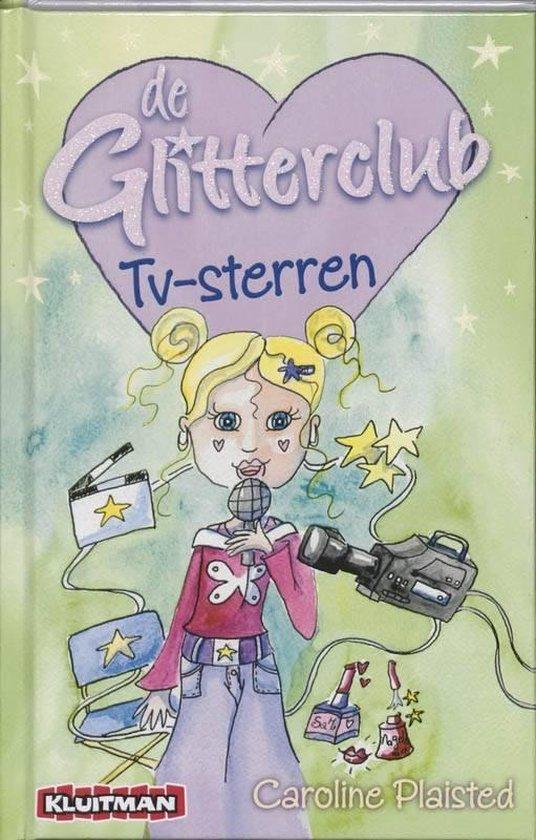Kinderboeken avi boek de glitterclub tv sterren AVI E6 - C. Plaisted |