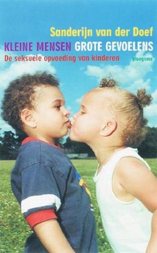 Boek cover Kleine mensen, grote gevoelens van Sanderijn van der Doef (Paperback)
