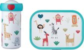 Mepal Campus Lunchset - animal friends