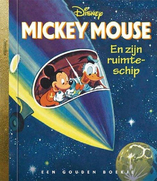 Boek cover Gouden Boekjes - Mickey Mouse en zijn ruimteschip van Jane werner (Hardcover)