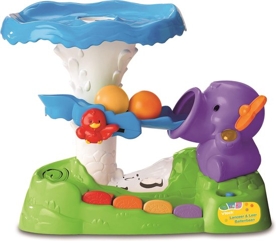 VTech Baby Lanceer & Leer Ballenbaan - Educatief Babyspeelgoed