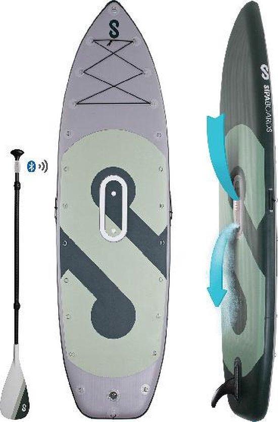 Elektrisch Sipa Sup Board Fisherman - E-sup - SUP Board - Elektrische Supboard - Zelf Opblaasbaar - Inflatable - Sup Bord - Supboard Pakket - Comfortabel Kunnen Suppen Met Een Elektrisch Supboard!