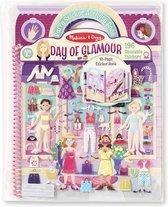 Melissa & Doug - Deluxe Puffy Sticker Album - Glamour