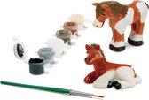 Melissa & Doug - Horses Figurines - Knutselset