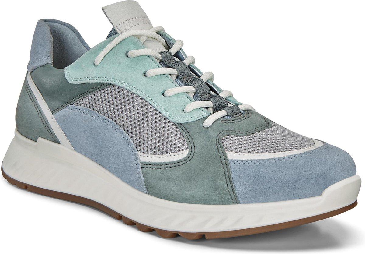 ECCO ST.1 Dames Sneaker Blauw Maat 38