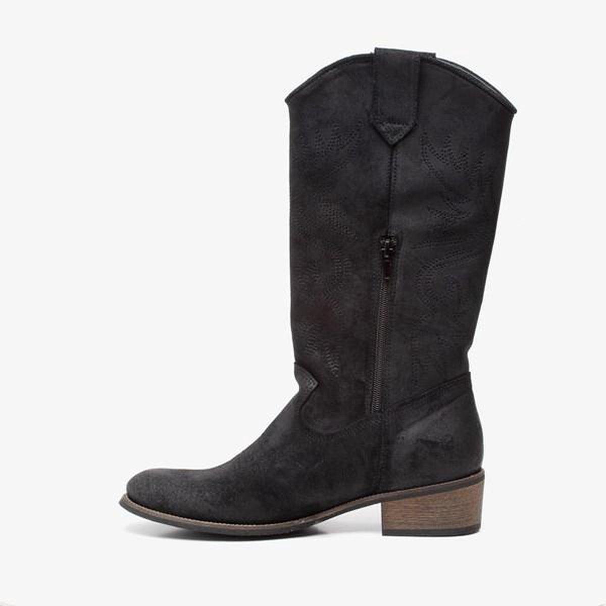 Bruine leren western laarzen | Lucchese | Vrouwelijk en Klassiek