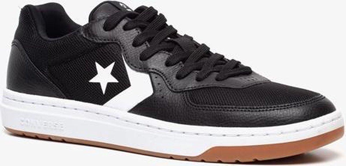 bol.com | Converse leren heren sneakers - Zwart - Maat 43