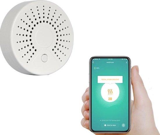 BELIFE® Slimme smoke sensor | Slimme rookmelder | Notificatie op je smartphone ( applicatie)