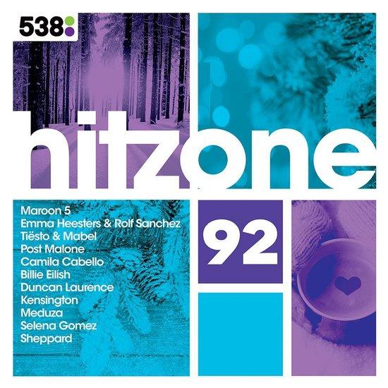 CD cover van 538 Hitzone 92 van Hitzone