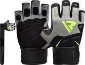RDX Sports F21 Fitnesshandschoenen - Maat XL - Groen