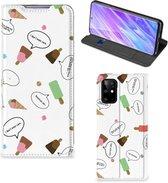 Samsung Galaxy S20+ Flip Style Cover IJsjes