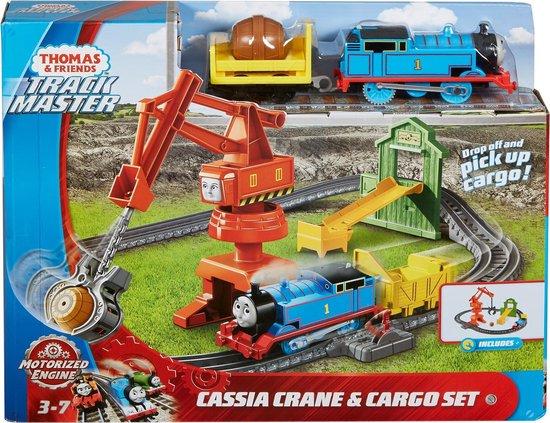 Thomas & Friends Trackmaster Cassia Hijskraan & Vracht Treinset - Speelgoedtrein