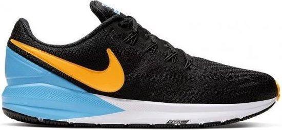 Nike Air Zoom Structure 22 hardloopschoenen heren marine/geel/wit