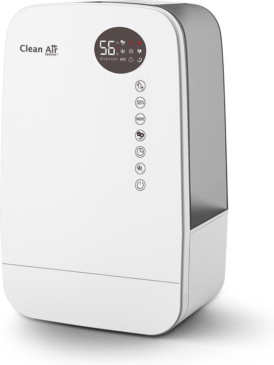 Clean Air Optima® CA-607W – Luchtbevochtiger met Ionisator, UVC-lamp en Aromatherapie
