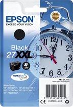 Epson 27XXL (T2791) - Inktcartridge / Zwart / Extra Hoge Capaciteit