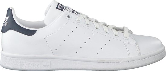 adidas Stan Smith Heren Sneakers Core WhiteCore WhiteDark Blue Maat 44