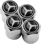 TT-products ventieldoppen aluminium Mercedes-Benz 4 stuks