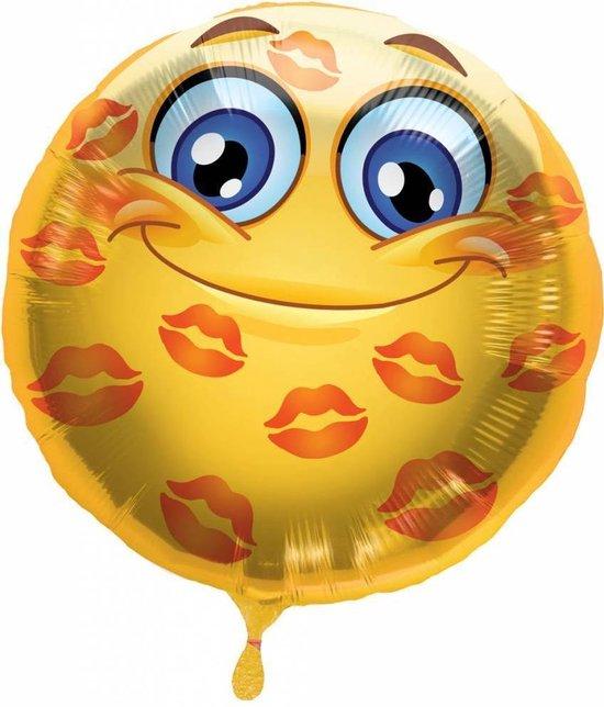 Helium Ballon Kusjes 43cm leeg