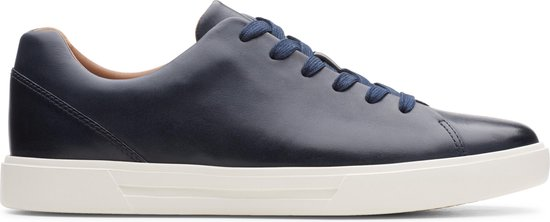 Clarks Un Costa Lace Heren Sneakers - Navy Leather - Maat 40