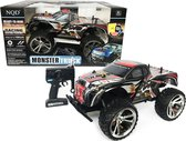 Radiografisch bestuurbare Monstertruck 1:10 - Super Monster Car - rc auto - 18 km/u  (45 CM)