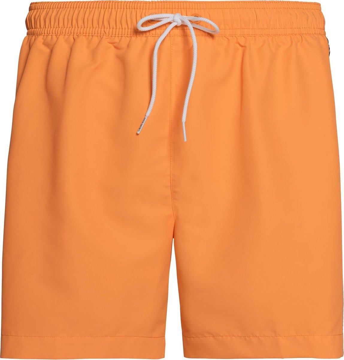 Calvin Klein Zwembroek Maat L Mannen oranje