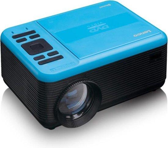 Lenco LPJ-500 - Beamer Full HD met DVD-speler en Bluetooth - Blauw
