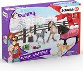 Schleich Adventskalender 97875 - Paard Speelfigurenset - Horse Club - 29,5 x 49 x 40 cm