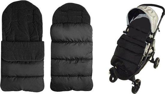 Product: Fedec Comfortbag Voetenzak - Babywagen - wandelwagen - Buggy - Zwart, van het merk Fedec