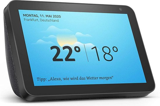 Amazon Echo show 8 - Zwart