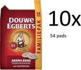 Douwe Egberts Aroma Rood Koffiepads - Multipak - 10 x 54 pads