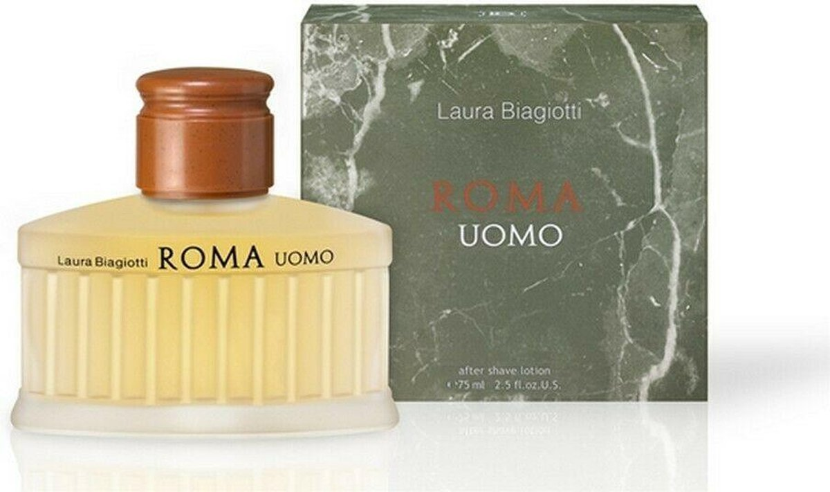 Laura Biagiotti Roma Uomo After Shave Lotion 75 ml - Laura Biagiotti