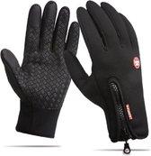 WiseGoods Handschoenen Waterdicht Touchscreen - Wintersport - Ski Gloves Winddicht - Voor Smartphones - Sporthandschoenen -  Zwart