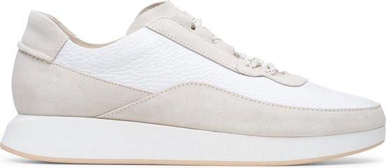 Clarks - Heren schoenen - Kiowa Pace - G - white combi - maat 7,5
