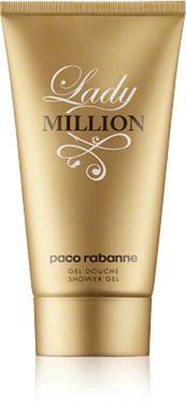 Paco Rabanne Lady Million - 100 ml - showergel - douchegel voor dames