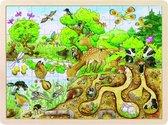 Goki Puzzel: op ontdekking in de natuur 96-delig