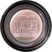 Maybelline Eye Studio Color Tattoo 24H Cream Oogschaduw - 150 Socialite - Roze