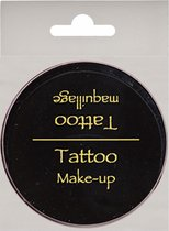 FANTASY Zwarte Tattoo Make Up - 25g