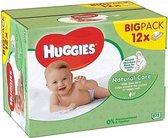 Huggies Billendoekjes Babydoekjes Natural Care 672 stuks