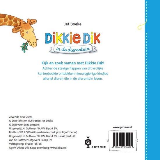 Dikkie Dik  -   In de dierentuin