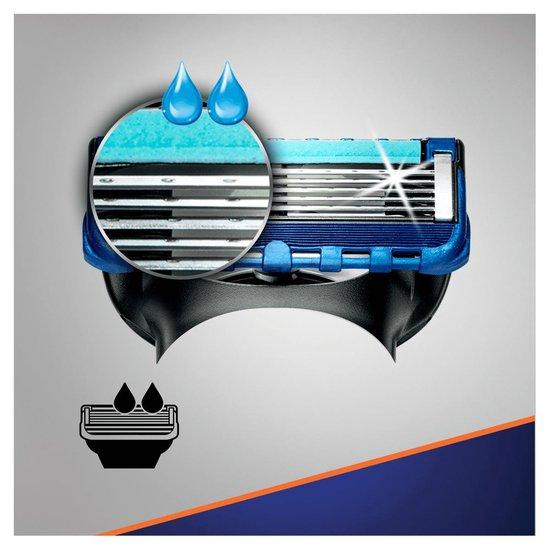 Gillette Fusion5 ProGlide Scheersysteem + 5 Scheermesjes - Brievenbus Verpakking