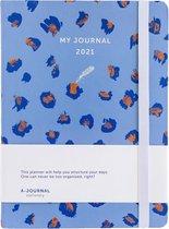 Afbeelding van My Journal Agenda 2021 - Lavendel Luipaard
