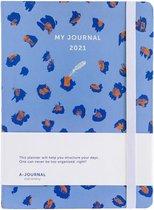 My Journal Agenda 2021 - Luipaard print