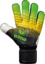 Erima Flexinator New Talent  Keepershandschoenen - Maat 7  - Unisex - groen/zwart/geel