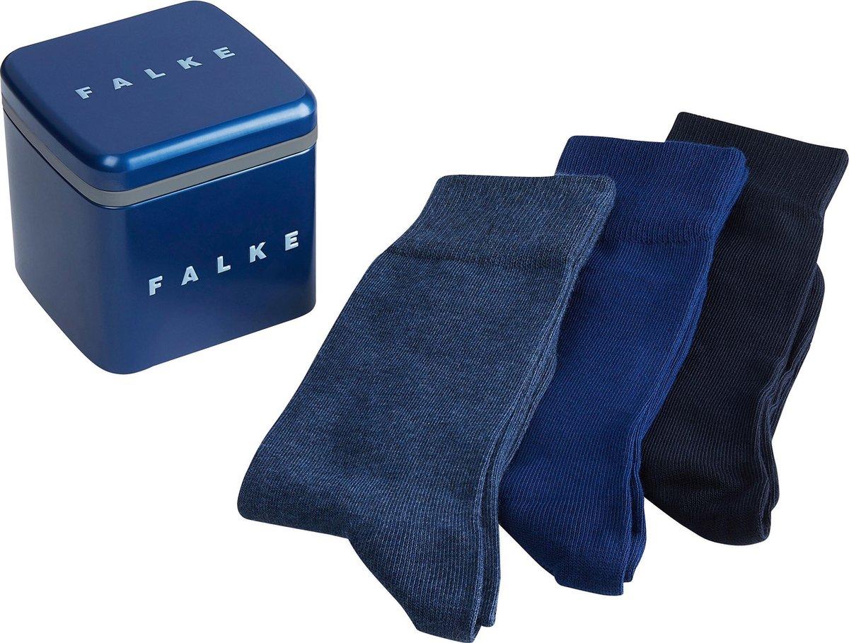 FALKE Happy Box Heren Sokken 3P - Maat 39-42