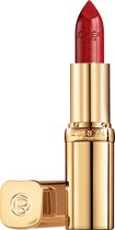 L'Oréal Paris - Color Riche Satin Lippenstift - 345 Cristal Cerise - Rood - 4,54 gram