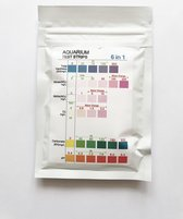 Aquarium Test Strips 6 In 1 (50 strips)